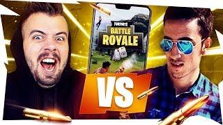 GABBO vs DELUX in PARCO GIOCHI su MOBILE! Fortnite Battle Royale