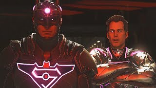 Injustice 2 - Superman Kills Brainiac, Becomes Tyrant and Rules the World/Universe (Bad Ending)