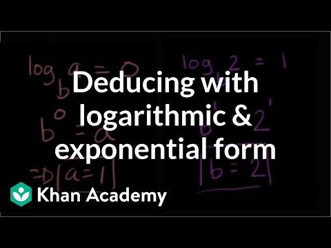 102425f3c Relationship between exponentials   logarithms  tables (video ...