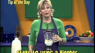 Steps to Using a Blender