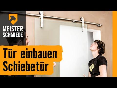 Tür einbauen: Schiebetür | HORNBACH Meisterschmiede