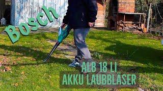 Bosch ALB 18 LI Akku Laubbläser