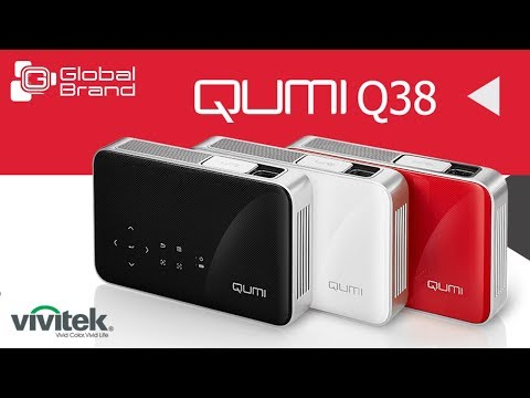 Qumi Q38: Enjoy Large Screen Experience at any Place | Vivitek | Global Brand Pvt Ltd