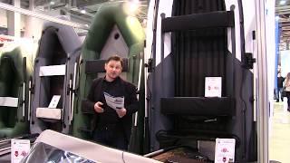 Моторная лодка Yukona (Юкона) 400 TS с килем от компании Спорттовары Рыболов - видео