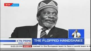 Why Jomo Kenyatta, Oginga Odinga 'handshake' failed to take place