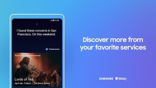 Bixby: How to discover more from your favorite services thumbnail