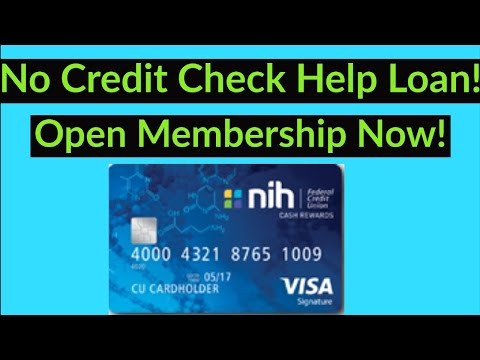 Major Game Changer! NIHFCU Now open to everyone! 0% APR 15 months Credit Card. No Credit Check Loan!