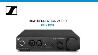 YouTube Video IzCUNfE7YcE for Product Sennheiser HD 820 Headphone & HDV 820 Headphone Amplifier Bundle by Company Sennheiser in Industry Headphones