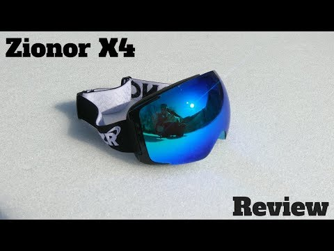 ZIONOR X4 goggles review