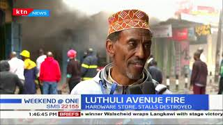 Latest update on Luthuli Avenue fire which broke out earlier on today