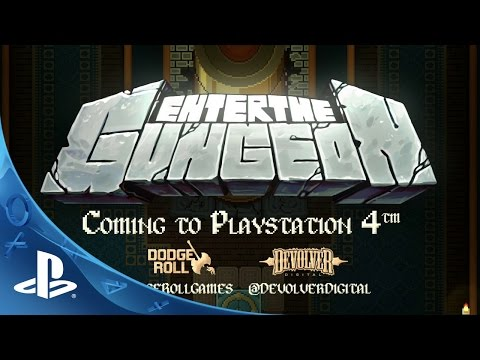 Enter the Gungeon – Reveal Trailer | PS4 thumbnail
