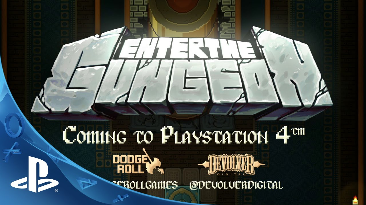 Enter the Gungeon Coming to PS4 in 2015