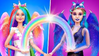 12 Miniatur Einhorn Barbie DIYs für ein Puppenhaus
