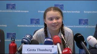 "Climate activist Greta Thunberg: ""I hope Angela Merkel doesn't think we are Russian spies"""