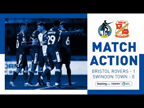 Match Action: Bristol Rovers 1-0 Swindon Town