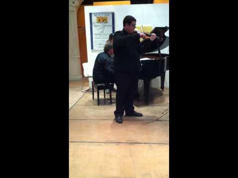 Schumann Sonata n° 1 Giulio Menichelli violino Luca Donati pianoforte