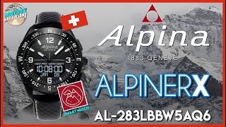 Brainiac! | Alpina AlpinerX 100m Swiss Made Quartz Smartwatch AL-283LBBW5AQ6 Unbox & Review