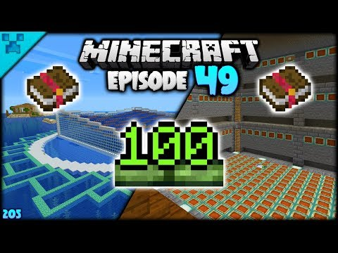 SEATROPOLIS LAYOUT! 100 LEVELS | Python's World (Minecraft Survival Let's Play S3 1.14) | Episode 49