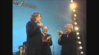 Fabrizio De André e Fernanda Pivano al premio Tenco 1997 COMPLETO