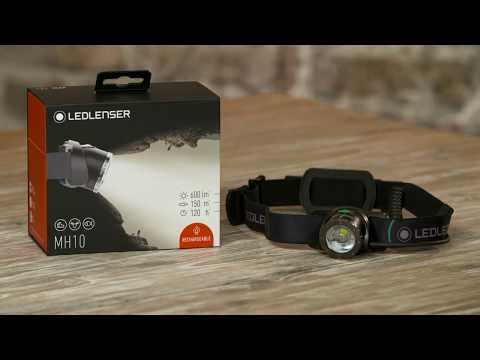 Ledlenser Stirnlampe MH10 - deutsch
