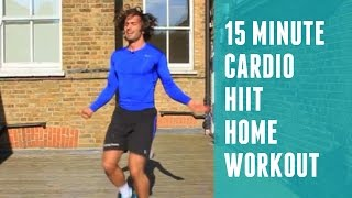 15 Minute HIIT Cardio Workout | The Body Coach by The Body Coach TV