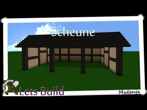 MINECRAFT - Bauernhof #11 - Scheune / Lets Build