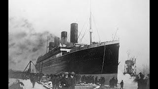 Редкие фото Титаника, сделанных до катастрофы .