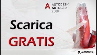 Scaricare gratis Autocad 2019 Student