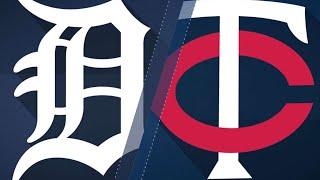 Lynn, Twins blank Tigers in 6-0 win: 5/22/18 - Video Youtube