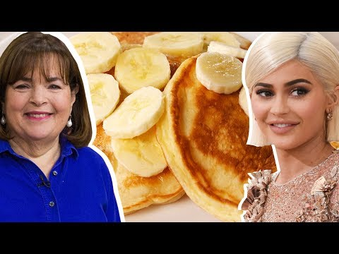 Kylie Jenner Vs. Ina Garten: Whose Pancakes Are Better? | Celebrity Snackdown | Delish