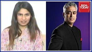 #PatriotWars : Gurmehar Kaur Exclusive Interview By Rajdeep Sardesai