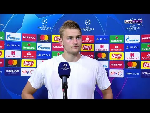 "Juventus' De Ligt expresses his ""huge disappointment"" after his side crash out"