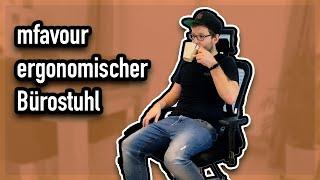 mfavour Ergonomischer Bürostuhl Test m18-01 (Deutsch)