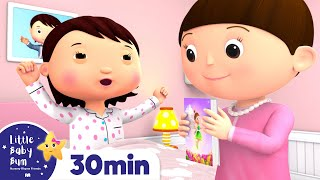 Super Mom Song | Accidents Happen +Nursery Rhymes and Kids Songs | Little Baby Bum
