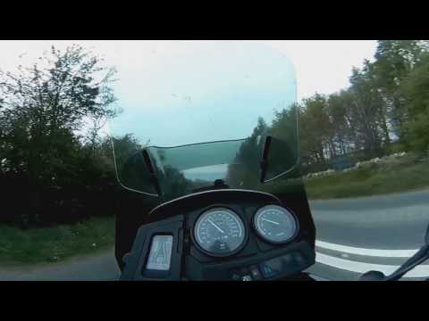 Riding a motorcycle with DokiCam