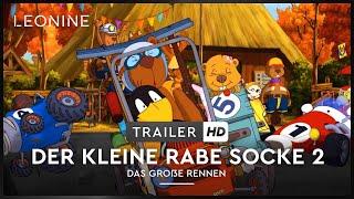 Der kleine Rabe Socke 2 - Das große Rennen Film Trailer