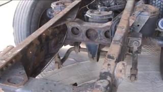 Как избавиться от глубокой коррозии металла. Пескоструйная обработка ржавой рамы грузовика
