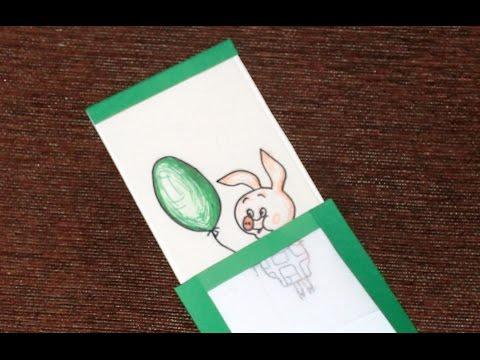 Открытка-фокус на День Рождения своими руками. Card-trick on Birthday