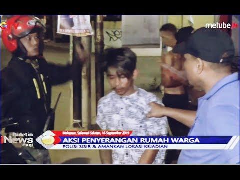 4 Pemuda Diringkus usai Rusak Rumah Warga dan Warung Makan - BIP 17/09