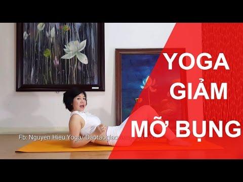 Nguyễn Hiếu Yoga - 5 phút tập cho bụng trước phẳng lì.