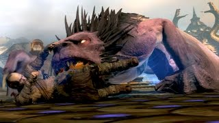 God of War Ascension: Manticore Boss Fight