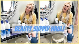 BEAUTY SUPPLY HAUL | COSMO PROF & SALON CENTRIC