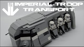 Imperial Troop Transport MOC - ITT - Lego Logic