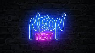 Тутор как сделать неоновый текст на андроид