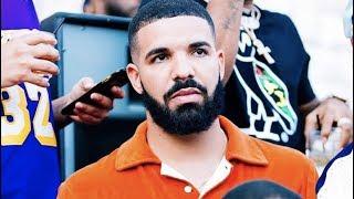Drake Looking Nervous AF At Random Party In LA
