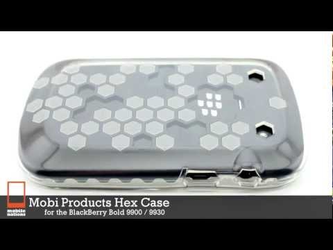 Mobi Products Hex Case for BlackBerry Bold 9930, Bold 9900