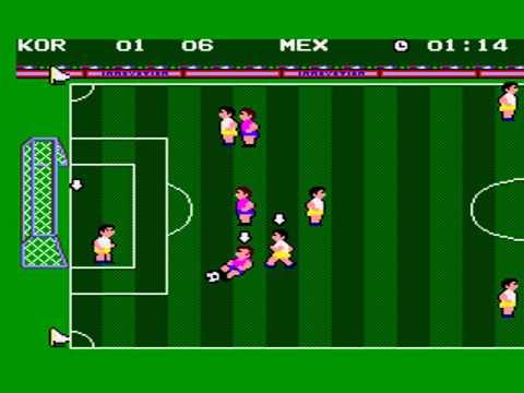 94 SUPER WORLD CUP SOCCER KOREA MASTER SYSTEM