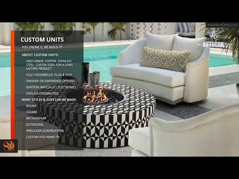 Custom Fire & Water Features by The Outdoor Plus
