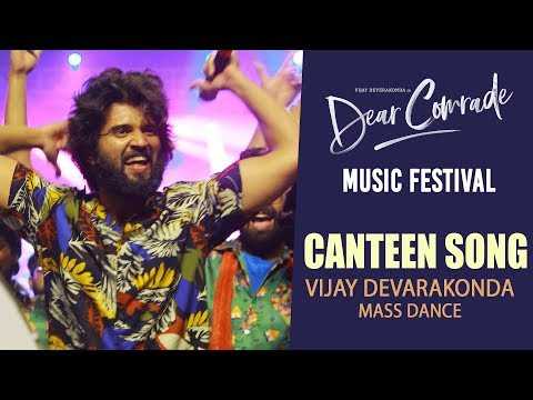 DOWNLOAD: Canteen Video Song - Dear Comrade | Telugu | Vijay