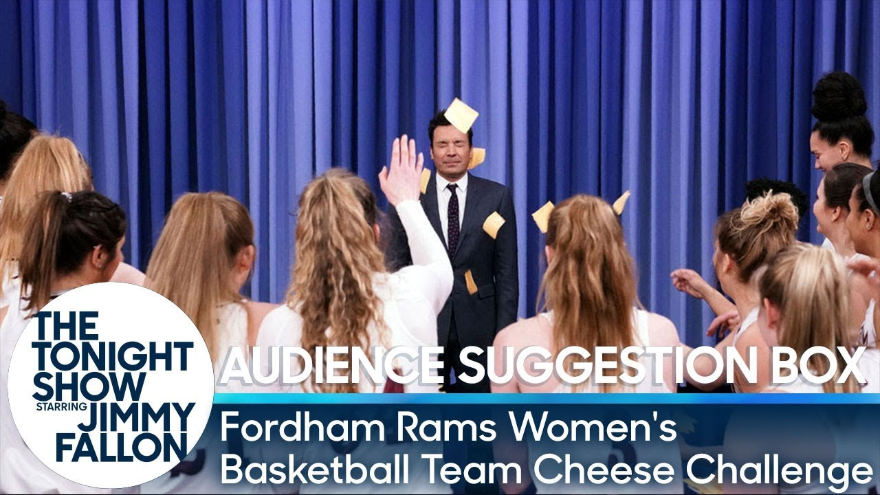 Audience Suggestion Box: Jimmy Gets Cheesed by the Fordham Rams Women's Basketball Team thumbnail